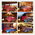Long Stapled Cotton Queen/King Size Bed Quilt/Doona/Duvet Cover Set Pillow Cases
