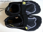 BODY GLOVE black/gray/yellow youth Aqua Sock/Water Shoes,size 1,2,3-read