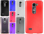 For LG Leon C40 Frosted TPU CANDY Gel Flexi Skin Case + Screen Protector