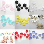 12pcs 3D Decal Wall Sticker Flowers Home Decor Room Decoration Stickers 8Colors