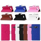 Flip Leather Card Slot Case Cover Pouch Protector For Samsung Galaxy J1 SM-J100