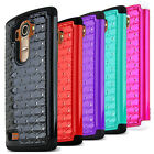 LG G4 Case, Hard Plastic on Silicone Dual Layer Hybrid Case Cover Skin for LG G4