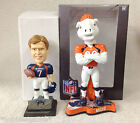John Elway and Miles The Bronco Mascot Denver Broncos Bobble Bobblehead SGA