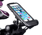 Tough Metal U-Bolt Golf Mount + Waterproof Case for iPhone 6 plus 6s plus 5.5""