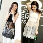 2015 Hot Womens Sexy Lace Dress Sleeveless Mini Dress Sexy Vest Dress Party