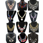 CHI Fashion Pendant Chain Crystal Choker Chunky Statement Bib Necklace Jewelry