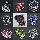 144 x HOT FIX 5mm FLATBACK ROUND IRON ON *10 COLOURS RHINESTONE DIAMANTE SS20