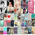 Fashion Cute Design Pattern Hard Back Case Skin Cover For iPhone 4/4S 5/5S 5C