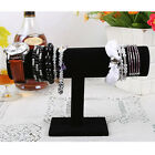 Hot 1-Tier Velvet Armband Watch Bracelet Jewelry Display Organizer Stand Holder