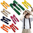 CHIC Children Boys Girls Toddler Clip-on Suspenders Elastic Adjustable Braces