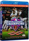 Official MLB 2012 World Series Film, Giants vs Tigers, Bluray Brand New Sealed