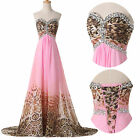 PRINCESS~ Bridesmaid Long Bridal Dress Party Prom Ball Gown Formal Evening Dress