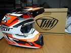 New 2015 THH TX12 Orange Helmet & White Thor Goggles S M L XL Motocross Enduro