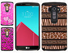 For LG G4 HARD Hybrid Rubber Silicone Case Phone Cover Accessory