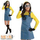 Despicable Me Ladies Minion Fancy Dress Character Womens Agnes Adult Costume BN