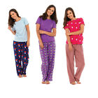 Women Sleepwear By Tom Franks Pjamas Sets 3 Colors Available