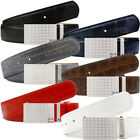 Druh Mens Players Crocodile Leather Golf Belt - One Size - Various Colours