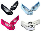 AGATHA-01 Slip On Casual Party Prom Wedding Women's Ballet Flats Office Shoes