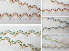 new 10yd/100yd Unilateral Handicrafts Embroidered Net Lace Trim Ribbon