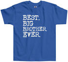 Threadrock Boys Best Big Brother Ever Toddler T-shirt Sibling Slogan Gift