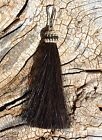 """100% Horsehair Zipper Pull - Natural Colors -3"""" - Jacket Backpack Purse"""