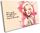 Marilyn Monroe Iconic Celebrities SINGLE CANVAS WALL ART Picture Print VA