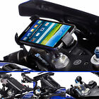 Motorcycle Fork Stem Mount + Universal One Holder for Samsung Galaxy S5 Phone