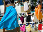 GOOD COTTON WRAP SKIRT - SARONG - LINED - FLOATY , BEACH, BOHO, GYPSY