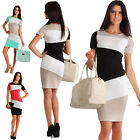 Summer Dress Womens Short Sleeve Dress Midi Party Bodycon Evening Cocktail Dress