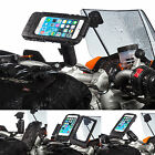 Motorcycle Handlebar Clamp Bolt Extended Mount + Case for Apple iPhone 6 6s 4.7