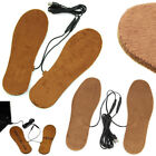USB Electric Powered Heated Winter Insoles For Shoes Boots Keep Feet Warm New