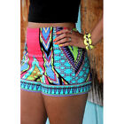 Fashion Womens Sexy Printing Summer Casual Beach Mini Shorts Short Pants Hot