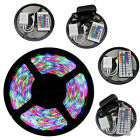5M SMD 3528 RGB 300LED Flexible Light Strip 24 / 44 Key IR 12V 2A Power Adapter