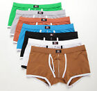 Hot Sale New Men's Sexy Boxer Briefs Comfy Shorts Underwear Trunks Underpants
