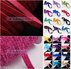 "Wholesale 5/200yards 3/8"" 10mm Velvet Ribbon Bows DIY Sew Trim Craft 47Colors"