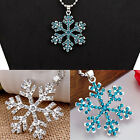 CHIC Hot Frozen Pendant Silver Plated Chain Necklace Royal Princess Jewelry
