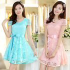 Fashion Women Ladies Sexy Lace Cocktail Homecoming Summer Party Graduation Dress