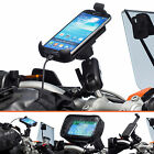 Motorcycle Clamp Bolt Extended Bike Mount + One Holder for Samsung Galaxy S4
