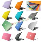"Matte Rubberized Hard Case Cover For Apple Macbook PRO Air 11""/13""/15'' Retina"