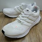 Adidas Energy Boost ESM M White Kanye West Running Shoes with discoloration