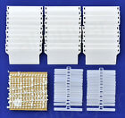 """Replacement 3.5"""" inch 89mm Vertical Blind Bottom Weights Repair Kit SPARE PARTS"""