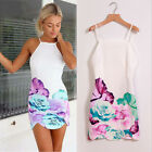 Womens Fashion Sexy Mini Dress Casual Evening Prom Party Club Dresses EW UK 03