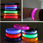 CHIC  Flashing LED Safety Night Belt Strap Arm Band Armband For Running New Hot