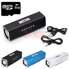 Music Angel USB Mini Speaker Support MP3 Micro TF/SD Tablet + 8GB Micro SD Card
