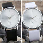 Geneva Wrist Watch Women Casual Watches Round Dial Leather Analog Quartz Watches