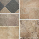 Light Stone Tile Effect Vinyl Flooring Quality Lino 2m 3m 4m R11 2.7mm CHEAPEST