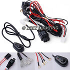 Fog Light Relay Harness Wire Kit HID LED Lamp Worklamp Off-Road Spot Driving Bar