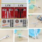 In-Ear Earbud Mic Stereo Earphone Headset Headphone For iPhone Samsung 3.5MM
