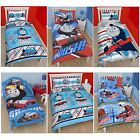 THOMAS THE TANK ENGINE BEDDING – SINGLE, DOUBLE AND TODDLER SIZE DUVET COVERS