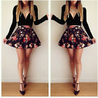 Sexy Floral Mini Short Dress Women Casual Summer Evening Cocktail Party Clubwear
